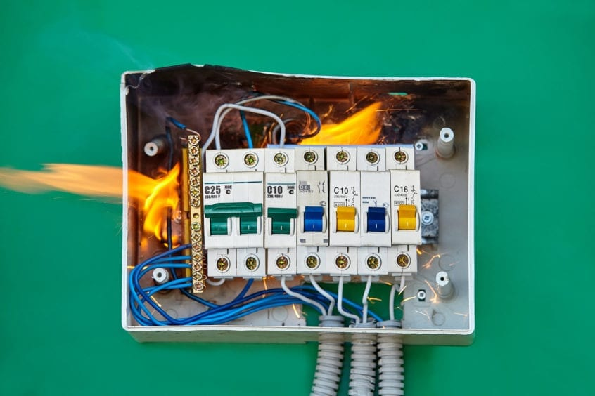Electrical problems in the summer