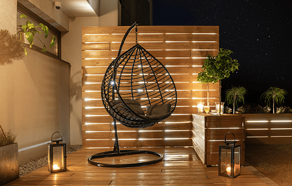 outdoor led lights makes your home patio more cozy