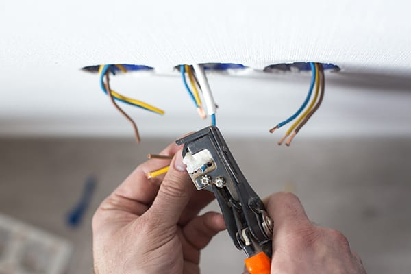 our expert Cloverdale electrician can help you with wiring for your home