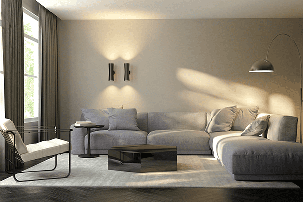 our surrey electrician can help you install the lights for your livingroom